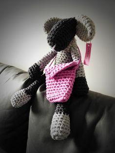 Háčkovaná ovenka - crochet sheepe