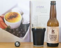 "Vanilla crème brûlée - Vanilla Crème brûlée (brouwerij Kees - Hollande) -  #BeeryChristmas 24/12/2015 -  via ""Saveur-Biere.com"""