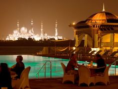 Sheikh Zayed Mosque at Night - Abu Dhabi
