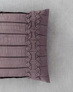 "Vera Wang's ""Side Origami"" pillow."