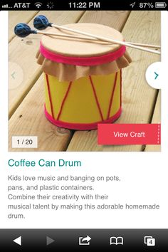 Home made drum
