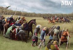 A skirmish of Franks with the Avars.