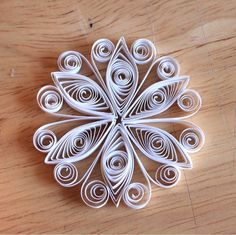To wrap up this Christmas Crafty Creation marathon, I thought I would revisit an older Crafty Creation which you can find HERE . Paper Quilling Patterns, Quilling Paper Craft, Paper Crafts, Snowflake Ornaments, Christmas Snowflakes, Christmas Ornaments, Xmas, Quilling Christmas, Christmas Crafts