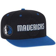 Dallas Mavericks adidas Youth 2016 NBA Draft Snapback Hat - Black