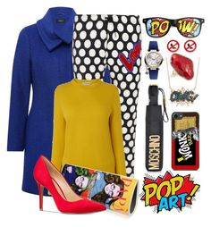 """""""Pop Art"""" by harleypool ❤ liked on Polyvore featuring M&Co, Love Moschino, Papà Razzi, Michael Kors, Vivienne Westwood, Moschino, Nuage, Diane Kordas, ZeroUV and popart"""