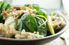 Autumn Spinach Salad