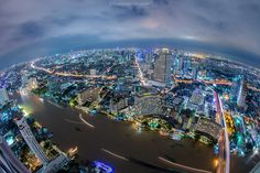Bangkok from the top by Nik Cyclist