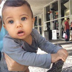 Mixed race toddler boy. Mexican, black, Japanese, Irish ...