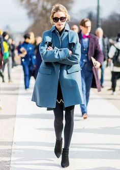 Olivia Palermo at Paris Fashion Week (THE OLIVIA PALERMO LOOKBOOK)