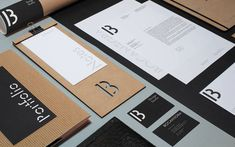 Redesign of Bocanegra's existing studio identity. Bocanegra is a small emerging design studio from Italy, working in the creative fields of branding and gr