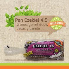 Pan hecho a base de granos germinados; no contiene conservadores, colorantes o saborizantes artificiales; además cuenta con certificación USDA Organic y un sabor sutilmente dulce.