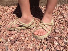 Your place to buy and sell all things handmade Rope Sandals, Walking Barefoot, Beige Color, Kids Wear, Buy And Sell, The Originals, Stuff To Buy, Free, Etsy