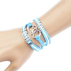 Pink Multilayer Braided Bracelets Antique Silver Faith Hope Believe Charm Bracelet Woven Leather Bracelet & Bangle For Women Braided Bracelets, Braids, Leather, Jewelry, Mom, Style, Fashion, Bang Braids, Swag