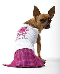 BAD GIRL DOG COSTUME MEDIUM