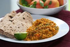 Vegetarian version of Kheema Curry using TVP instead of minced mutton.