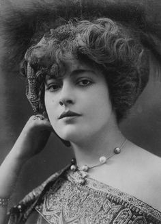 Genevieve Lantelme was a French actress and courtesan, the mistress of press magnate Alfred Edwards, from whose yacht she fell to her death in July 1911.