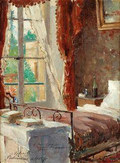 Joseph Sylvestre Interior 1890
