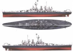 Diagram    of the    Battleship    Tirpitz          Battleship