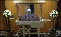Wedding Displays   Wedding Arches   Floral Displays   Wedding Decor Wedding Arches, Wedding Flowers, Candy Cart, Rose Trees, Civil Wedding, Event Venues, Lanterns, Wedding Decorations, Display