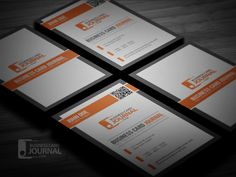 Download » http://businesscardjournal.com/professional-qr-code-business-card-template/ Free Professional QR Code Business Card Template