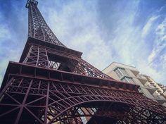 Наша Эйфелева башня) Tour Eiffel in Kiev) #ukraine #kiev #frenchquarter #toureiffel #town #sky #arhitecture #building #art #urban #french #vscokiev #vscoart #vscocam #vsco #instaart #instaday #instapic #instagram #instamood #instakiev #s1mple_shots #kievnow #kievblog #kievgram by marga_da