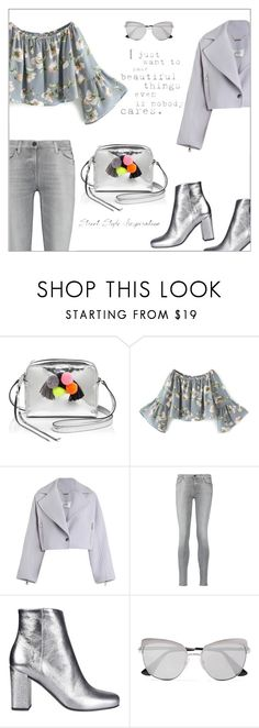 """""""Beautiful Things"""" by frenchfriesblackmg ❤ liked on Polyvore featuring Rebecca Minkoff, Zimmermann, 7 For All Mankind, Yves Saint Laurent, Prada and sunnydaays4everkh"""