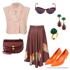 Um inverno midi! Veja post completo em www.carolinedemolin.com.br. #moda #fashion #tendencias #trend #personalstylist #personalstylistbh #consultoriademoda #consultoriadeimagem #imagem #identidade #fashionblogger #looks #lookdodia #lookoftheday #estilo #style # #loveshoes #shoes  #bags #lovebags #prints   #acessorios #aniemeyer #farm #chloe #schutz #givenchy #mariadolores #www.carolinedemolin.com.br