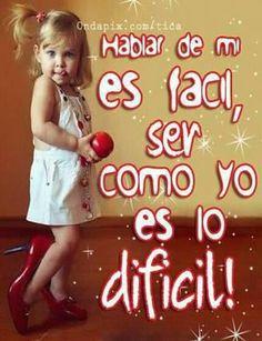 Facil Hablar De Mii Lo Dificil Es Ser Como Yo!