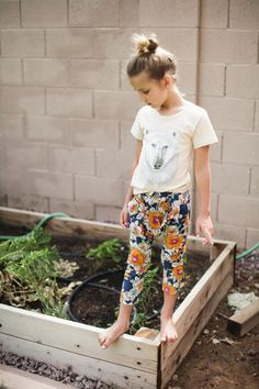 Sylvie just can't stay away from the garden! What can she do-- she has such a green thumb.