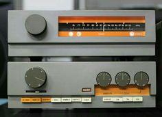 quad 33 control amplifier  & fm 3 tuner