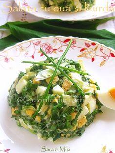» Salata cu oua si leurdaCulorile din Farfurie