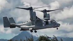 V-22 Osprey Tilt-Rotor Aircraft In Action - Compilation