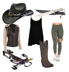 """""""Cowgirl of the apocalypse"""" by mespeedfreak on Polyvore featuring WearAll, Dan Post, Black Rivet and plus size clothing Apocalypse, Size Clothing, Plus Size Outfits, Dan, Polyvore, Stuff To Buy, Clothes, Black, Fashion"""