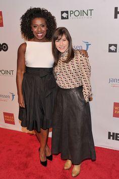 Uzo Aduba and Yael Stone attend Point Honors New York gala