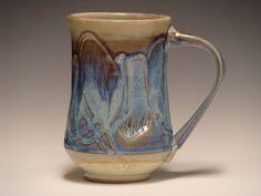 Handmade Ceramic Mug3785 by dragonfliesandmud on Etsy, $22.00