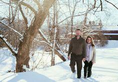 Couple's Photo- Snow