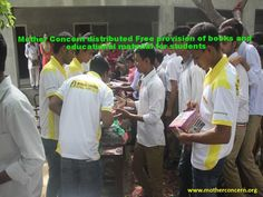 Mother Concern distributed Free provision of books and educational material for students. http://motherconcern.org  #motherconcern #childEducation #ngo #womenNgo #callforDonation #Womencharity
