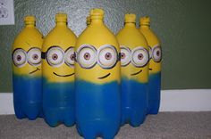 Sweet Child O'Mine: Kalen's Despicable Birthday Party.  Bowling for minions!!!!