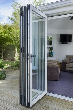 Warmcore Homes have protected over homes since find out more about our Aluminium Windows and Bi folding Doors & Residential doors Modern House Design, Balcony Doors, Home, Exterior Doors, Glass Garage Door, Residential Doors, French Doors Patio, Bifold Exterior Doors, Slider Door