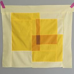Fixed the yellow block. Paper Shopping Bag, Quilts, Sewing, Yellow, Mini, Fabric, Ideas, Tejido, Dressmaking