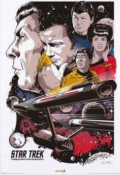 Star Trek Pop Art Poster 24x36 – BananaRoad