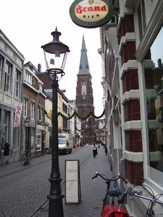 Streets of Maastricht Netherlands