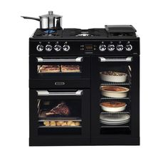 Black Leisure Range cooker