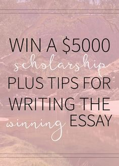 Scholarships are the bread and butter for so many students when it comes to paying for college Check out this 5000 scholarship opportunity plus my best essay tips Grants For College, Financial Aid For College, College Planning, College Hacks, Education College, College Essay, School Hacks, Essay Writing, Writing Tips