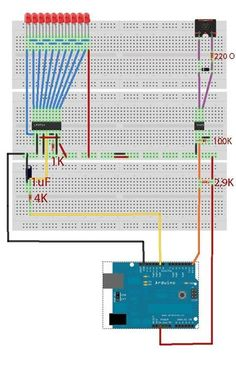 Midi VU meter, LM3914, Arduino, PWM  I've been working on a midi controller for some time now, Midi OUT hasn't been a problem, but for Midi IN i had to take some more time. For more detail: http://duino4projects.com/midi-vu-meter-lm3914-arduino-pwm/ Please like & share: Arduino Projects Tutorial Code Keep Visiting: http://duino4projects.com #thearduinoshop
