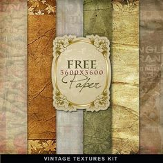 Freebies Kit de Documentos antiguos