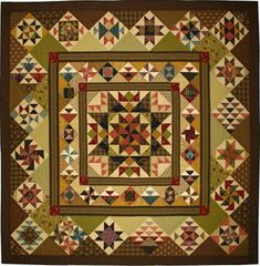 Aunt Lucy's Medallion  From my heart to your hands: Quilt Designs by Lori Smith