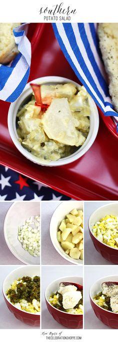 Grilling Sides – Southern Style Potato Salad Recipe