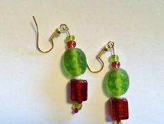 Earrings - Kiwi Christmas BBX033