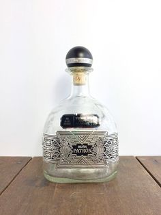 Patron Limited Edition Bottle - Rare 1 Liter Patron Bottle, 2016 Limited Edition, Patron Tequila Bottle, Liquor Bottle, Collectible Bottle by EastHighVintage on Etsy